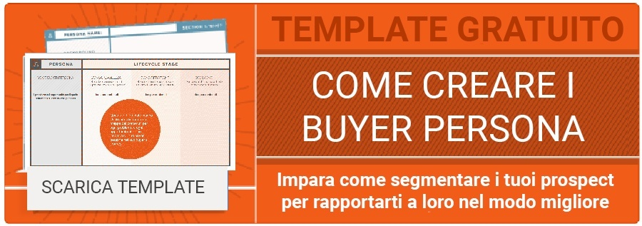 Scarica gratis template per Buyer Persona