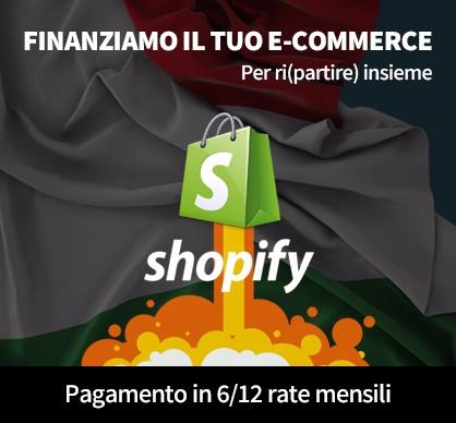 #SolidarietàDigitale (per aiutarti a ripartire!) Finanziamo il tuo E-commerce Paga in 12 mesi il tuo progetto per vendere online Scopri come!