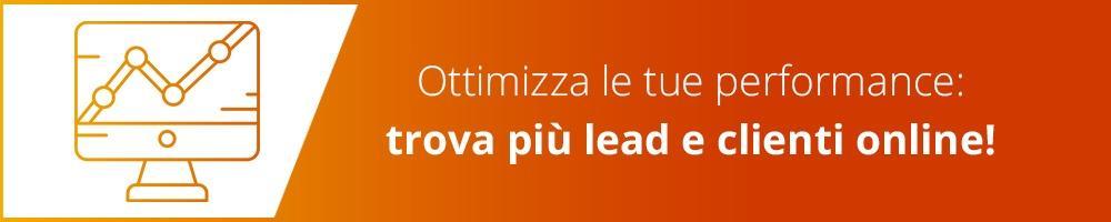Trova lead e clienti col web - richiedi demo hubspot