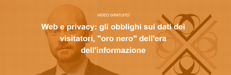 Vedi gratuitamente il video Web e Privacy