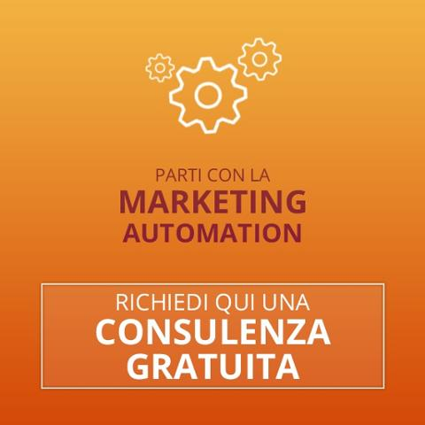 richiedi consulenza marketing automation