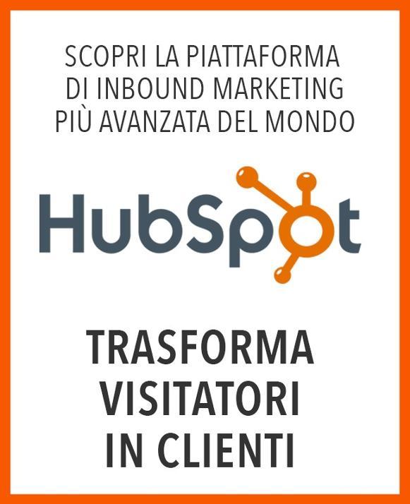scopri HubSpot la piattaforma di inbound marketing più avanzata al mondo