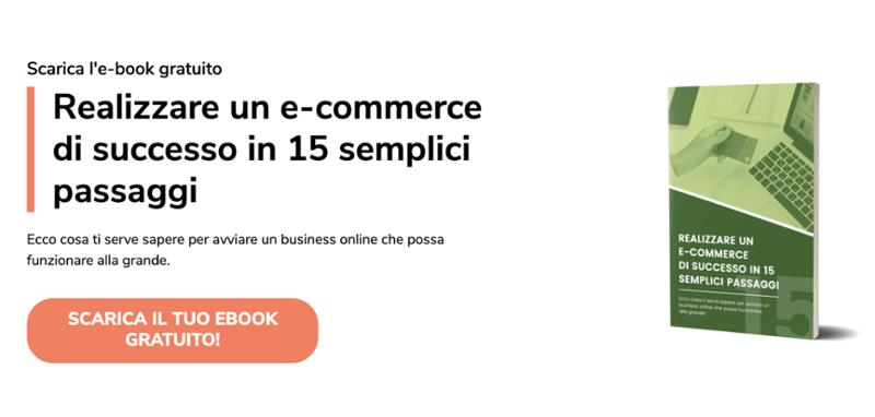 """Scarica ebook """"Realizzare e-commerce di successo in 15 passi"""""""