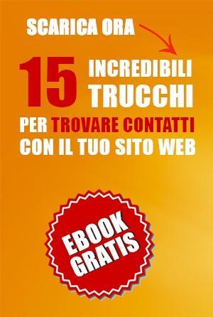 Download - Scarica eBook gratis: 15 incredibili trucchi trovare contatti sito web - sidabar
