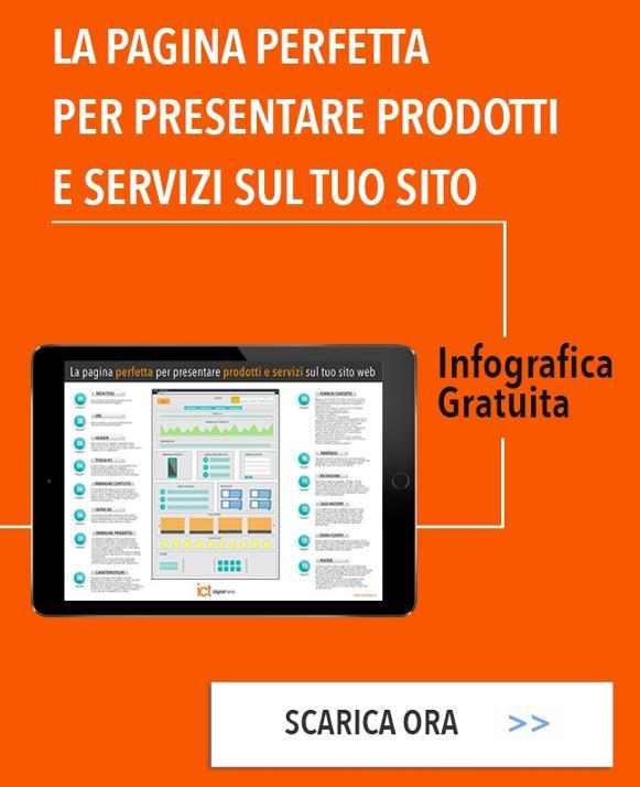 Scarica la Pagina perfetta per presentare i prodotti sul sito web