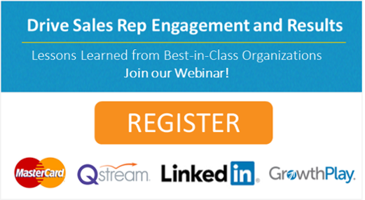 Join our Webinar on Driving Sales Rep Engagement