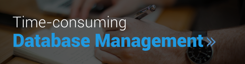Time-Consuming  Database Management