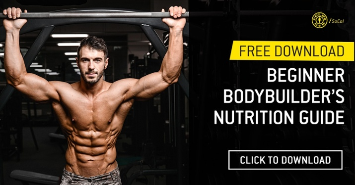 Download Our FREE Bodybuilder's Nutrition Guide Today!