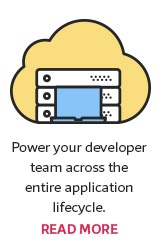 Power your developer team across the entire application lifecycle. Read More.