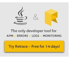Retrace is the only developer tool with the power of APM, Errors, Log, and Monitoring – Try it free!