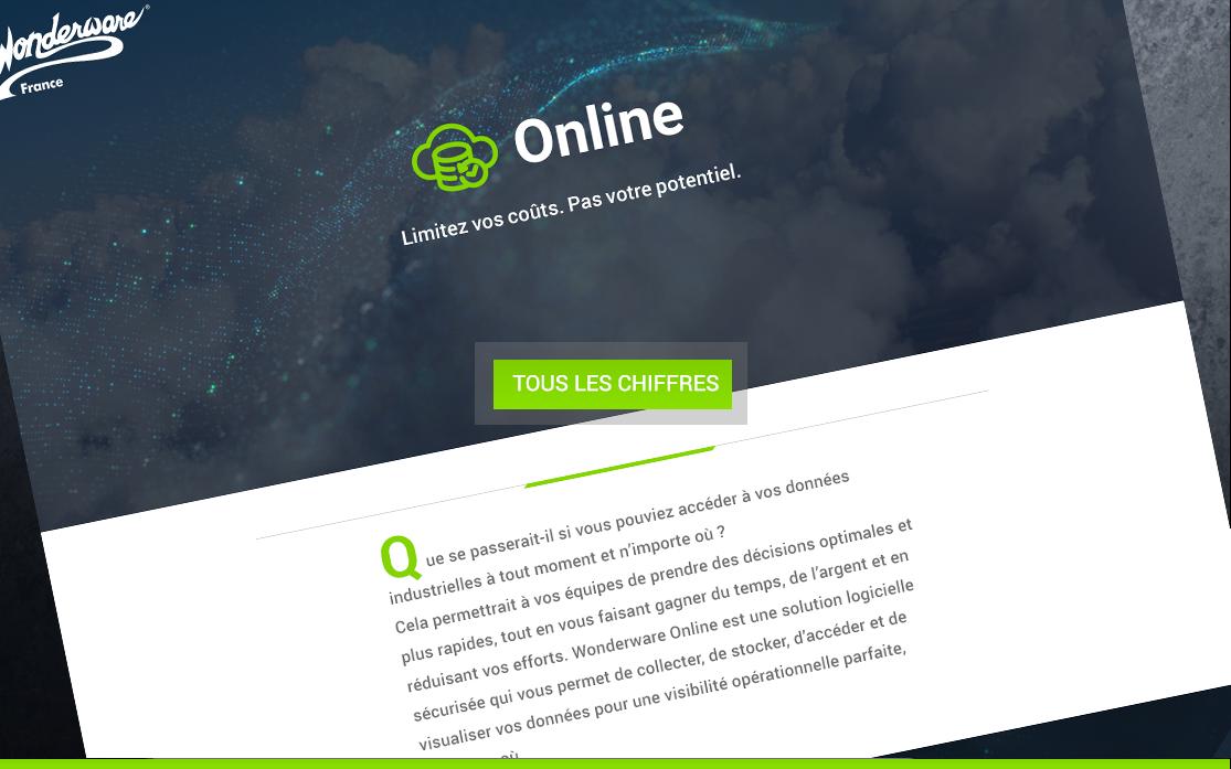Infographie Wonderware Online