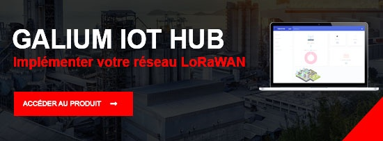 LoRaWAN Galium IOT Hub