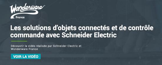 Les solutions d'objets connectés et de contrôle commande avec Schneider Electric