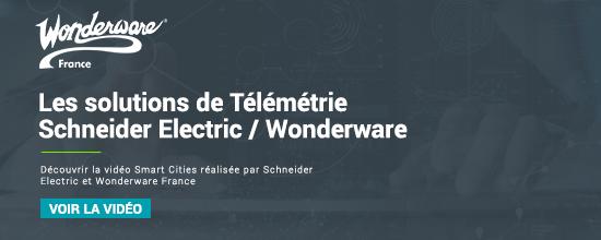 Smart Cities : Les solutions de télémétrie Schneider Electric