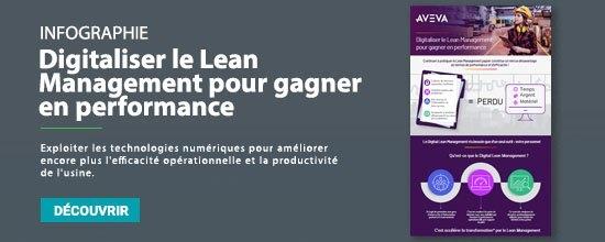 infographie discrete lean management