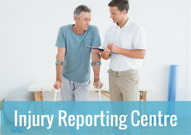 Injury reporting centre