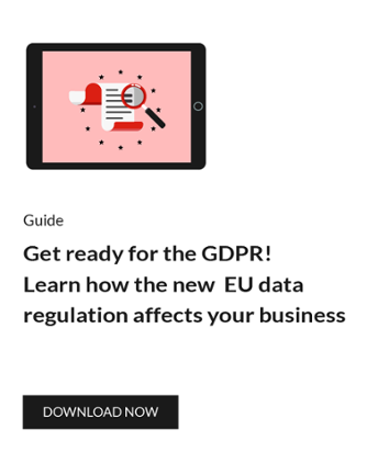 Gte ready for the GDPR