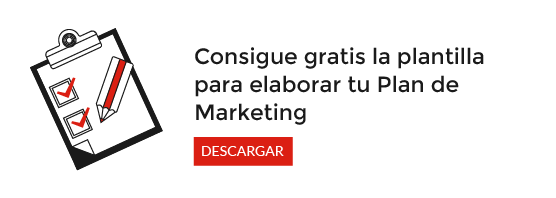 Consigue gratis tu plantilla para elaborar tu plan de marketing online