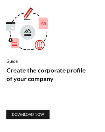 Create the corporate profile of your company