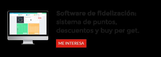 Solucion completa de fidelización: marca, software y mantenimiento