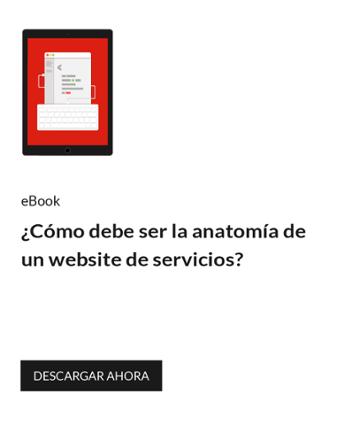 ¿Cómo debe ser la anatomía de una web de servicios?
