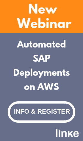 Register to the webinar: Automated SAP Deployments on AWS