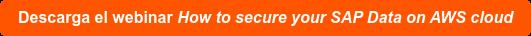 Regístrate en el webinar How to secure your SAP Data on AWS cloud