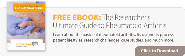 Click to download free eBook: The Researcher's Ultimate Guide to Rheumatoid Arthritis