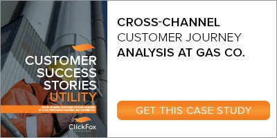 Case Study - Cross Channel Customer Journey Analysis in Utility