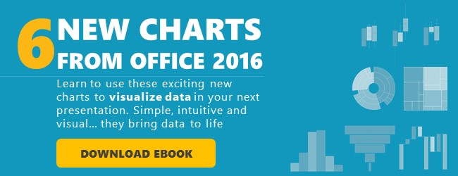 New PowerPoint 2016 Chart Types