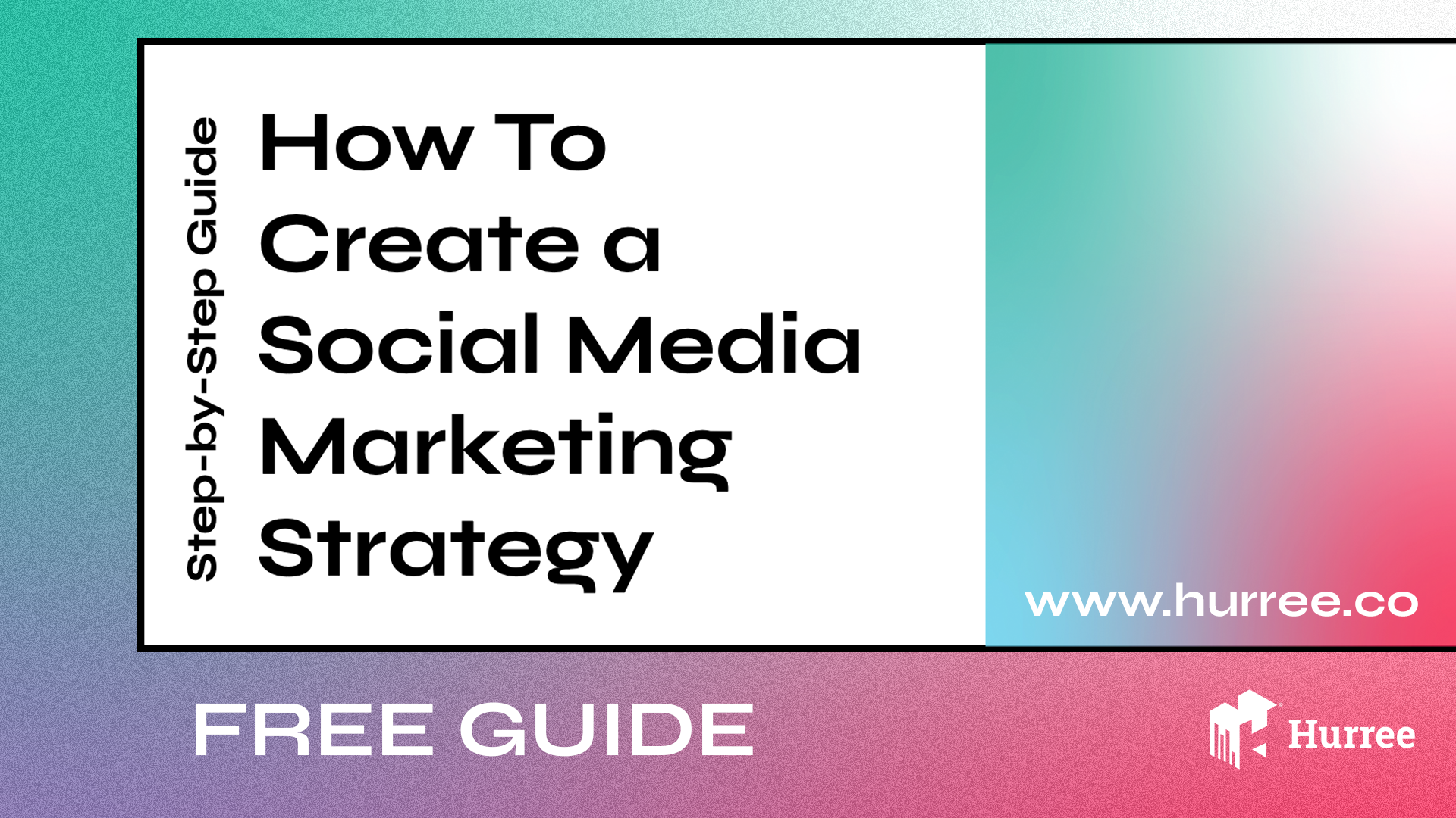 free guide how to create a social media marketing strategy
