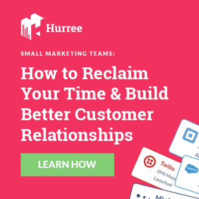 Small Marketing Teams: How to Reclaim Your Time & Build Better Customer Relationships