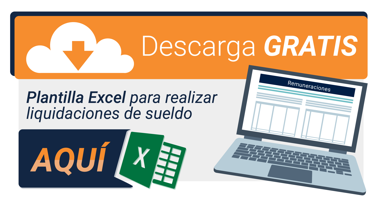 Descarga gratis una Plantilla de  Liquidación de Sueldos en Excel