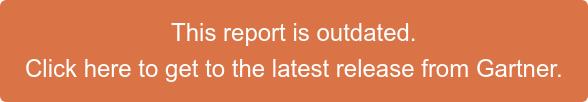 This report is outdated.  Click here to get to the latest release from Gartner.