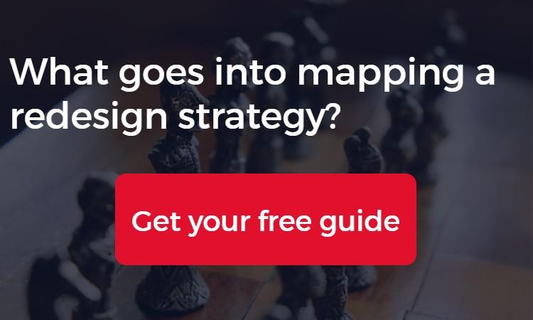 Learn how to create a redesign strategy