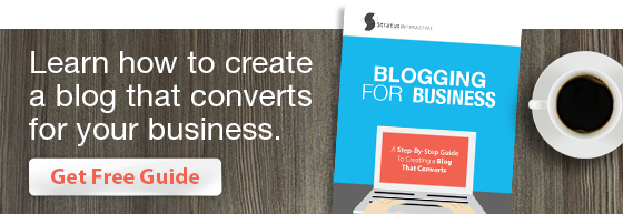 Get Free Guide to Blogging for Business