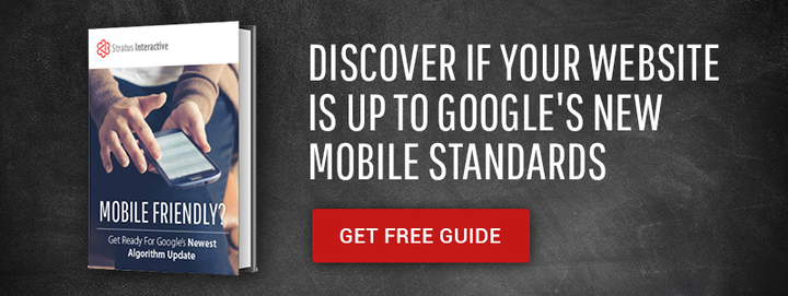 Discover if Your Website is up to Google's New Mobile Standards Get Free Guide