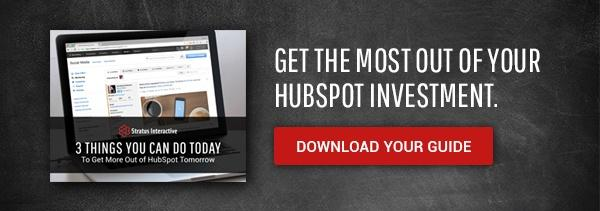 Get the Most Out of Your HubSpot Investment. Download Your Free Guide.