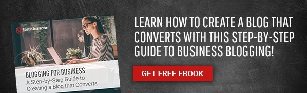 Learn how to create a blog that converts with this step-by-step guide to business blogging! Get Free eBook