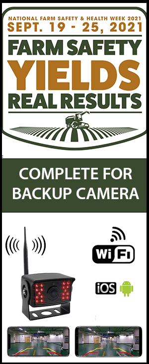 backup camera registration
