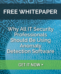 why all IT Security professionals should be using anomaly detection software