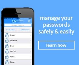 My Password Saver, store your passwords safely and easily