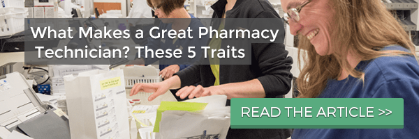 what makes a great pharmacy technician