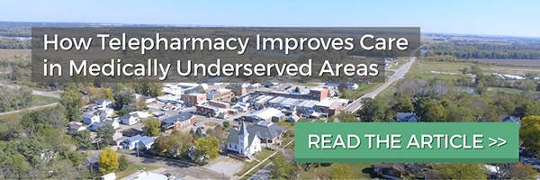telepharmacy improves care medically underserved areas
