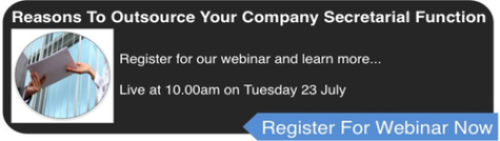 Reasons To Outsource Your Company Secretarial Function Webinar