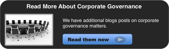 Corporate Governance Blog Posts