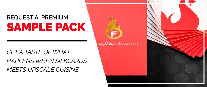 Request a Premium Restaurant Sample Pack