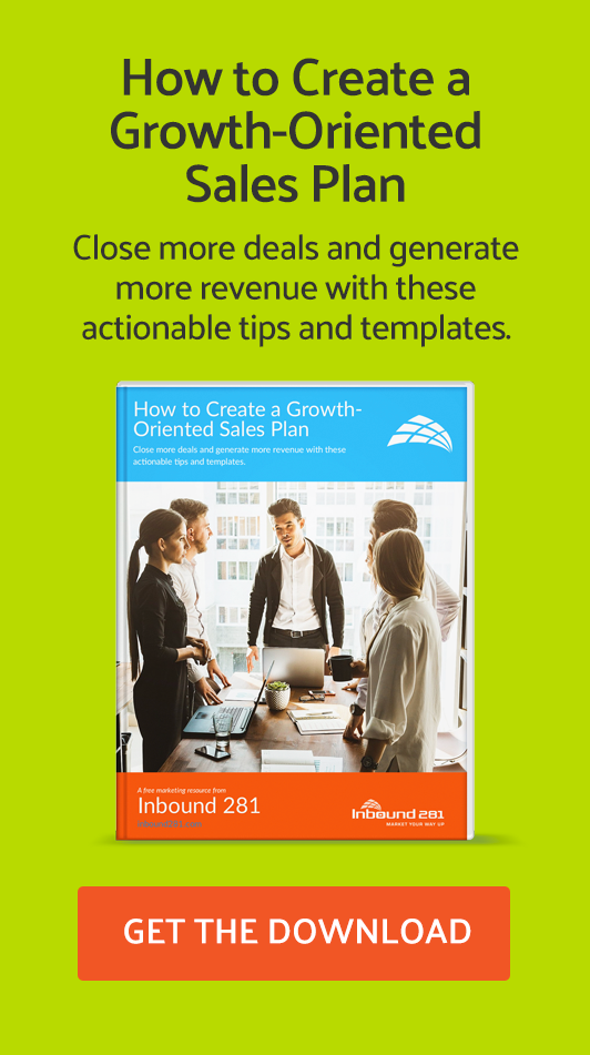 Create Growth Oriented Sales Plan