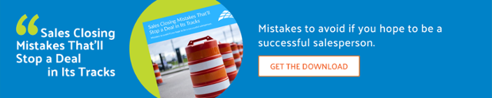Sales Closing Mistakes to Avoid