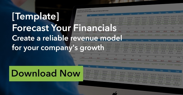 [Template] Forecast your financials